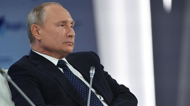 Агрессор просто сдохнет Путин на Валдае рассказал о внешней и внутренней политике Кремля