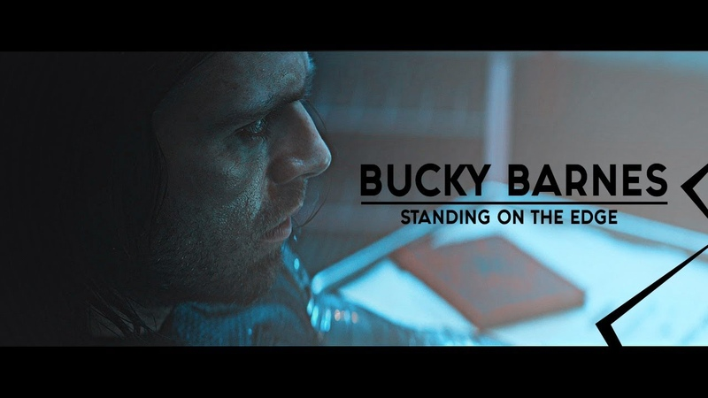 Bucky barnes standing on the ed