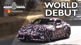 New Toyota Supra makes world debut at FOS