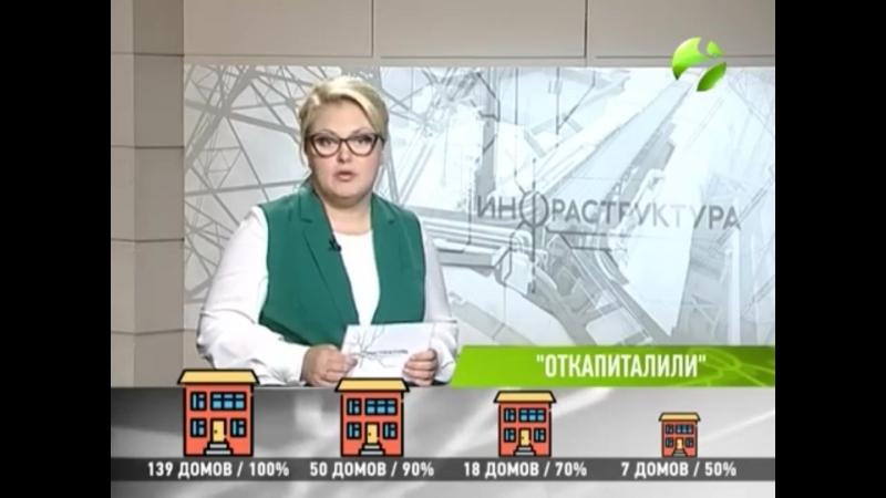 Исполнение капремонта - 2018. Инфраструктура 08.10.2018 ОГТРК Ямал-Регион