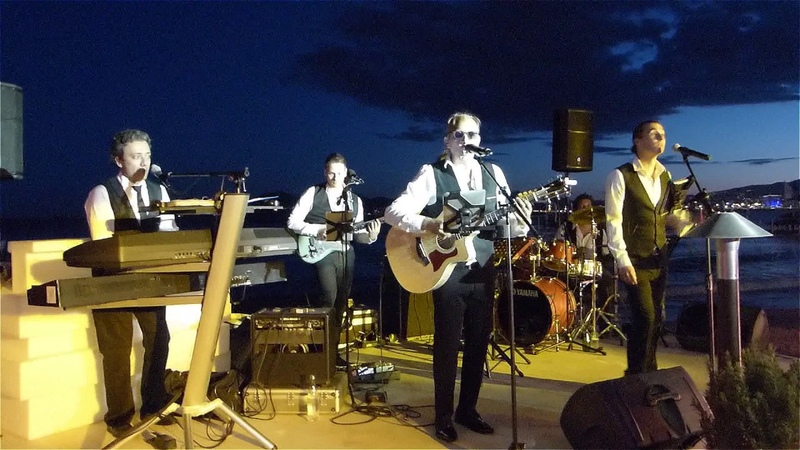 GALACTICA BAND Z PLAGE MARTINEZ SHAPE OF YOU COVER