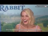 Интервью для «MTV AU» в рамках промоушена фильма «Кролик Питер», Сидней, Австралия | 16.03.2018 (Русские субтитры)