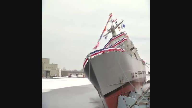 5 удивительных спусков кораблей на воду.