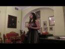 Маргарита Алтунина. М.И.Глинка. Песнь Маргариты. Концертмейстер - Г. Г. Мигунов