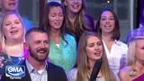 Mama Lu Good Morning America wRent's Anthony Rapp &amp Tracie Thoms Seasons of Love Barbara Lueck RMHS
