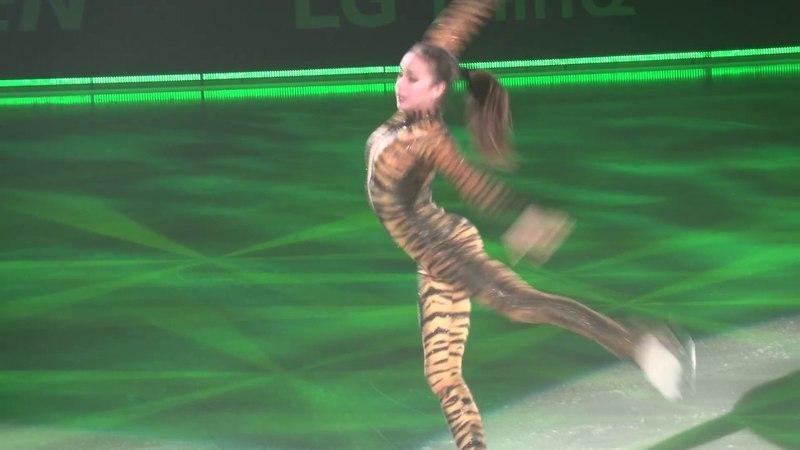 (4K video) АЛИНА ЗАГИТОВА Ледовое шоу 2018✨ ворожея льда