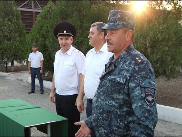 Начальник ГУ МВД России по Самарской области посетил Республику Дагестан и проверил несение службы