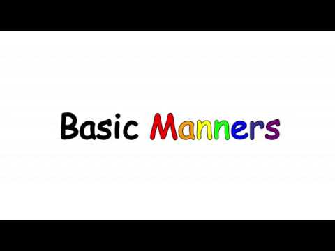 Basic Manners with Ms. Jeanne (S1E02)