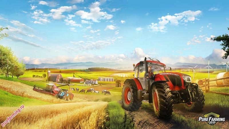 Live Stream StayJo PureFarming2018! Запах пшеницы и животных, становимся фермером !