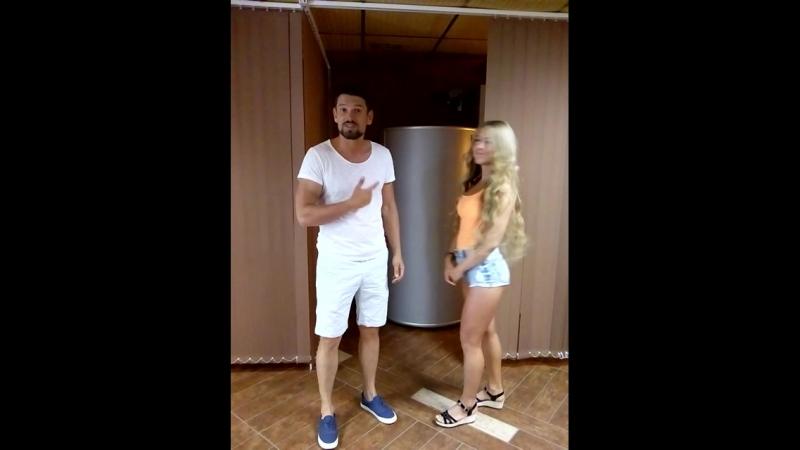 Дима и Роза после криосауны))