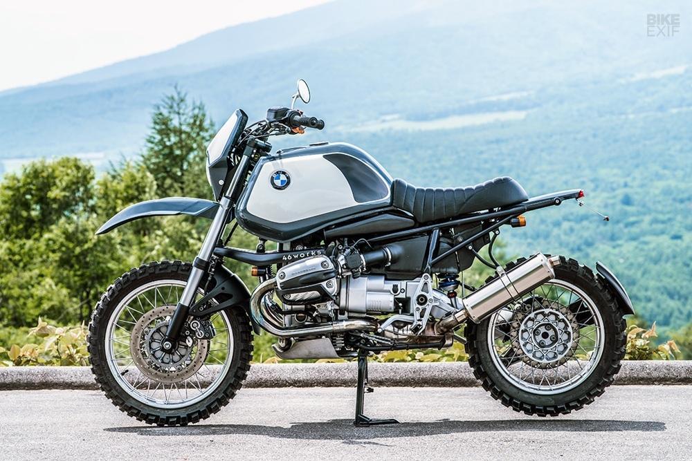 46Works: кастом Urban Regolarita на базе BMW R1150GS