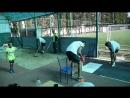 1 попытка в прыжках в длину у мальчиков команды Победа