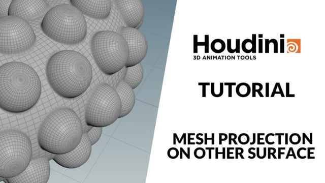 Houdini Mesh projection on surface