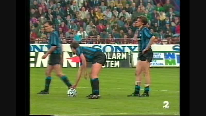 Кубок УЕФА 1990/91. Интер (Италия) - Рома (Италия)