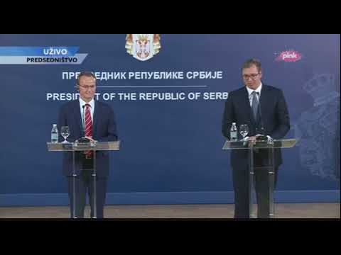 Vučić Za pretnje i ucene nismo spremni a ko će onda biti kriv