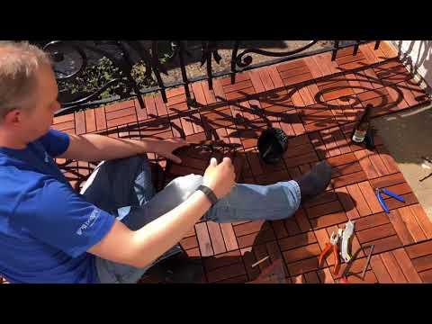 Restoring the Balcony with IKEA Runnen