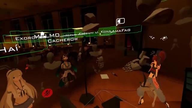 VR Chat - Dancing Duo ( ͡° ͜ʖ ͡°)