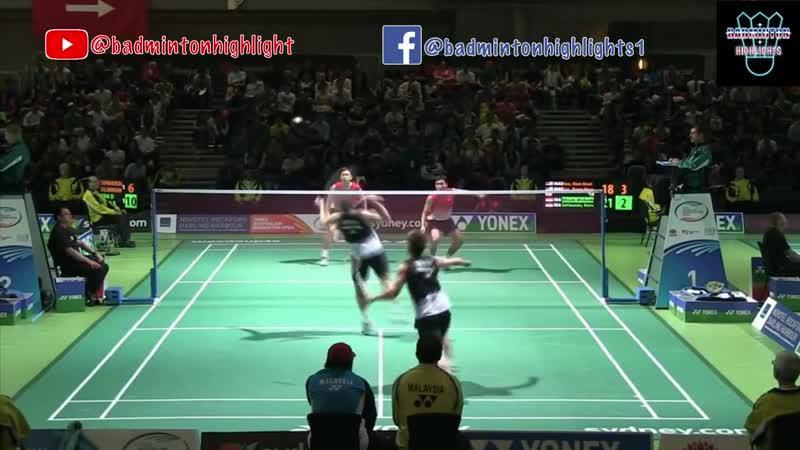 Badminton Koo Kien Keat_Tan Boon Heong vs Mohammad Ahsan_Hendra Setiawan