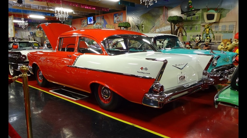 1957 Chevrolet Chevy 150 Fuel Injected @ Volo Auto Museum on My Car Story with Lou Costabile