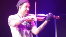 David Garrett Rome 17 10 2018 Viva la Vida ALTA RISOLUZIONE non professionale DALLA PRIMA FILA