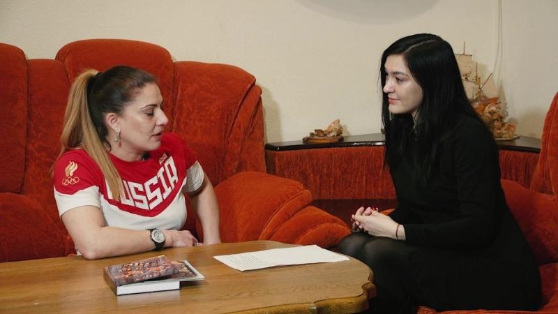 Олимпийская чемпионка Елена Продунова в гостях у ProFc и Пересвет
