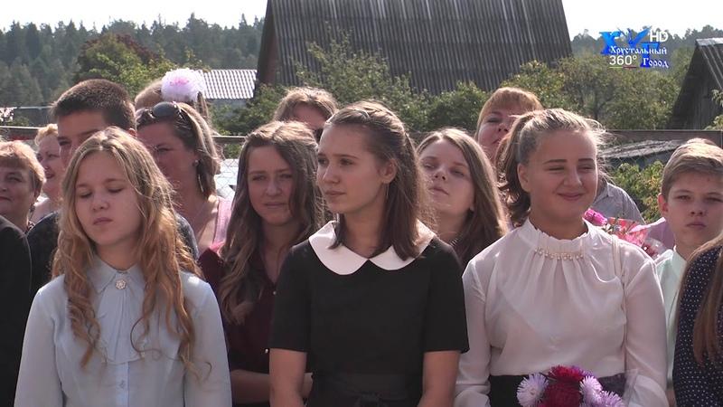 День Знаний, встретили в школах поселков Иванищи и Неклюдово, Гусь - Хрустального района