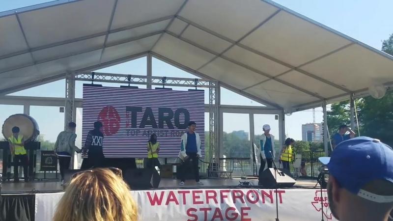 Project Taro [Jr. Exile] Performance at Houston Japan Festival 2017