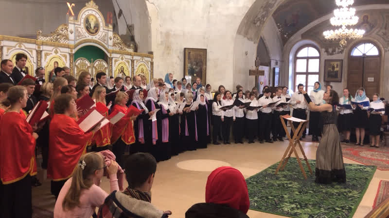7 хоровой фестиваль Осеннее многоголосье