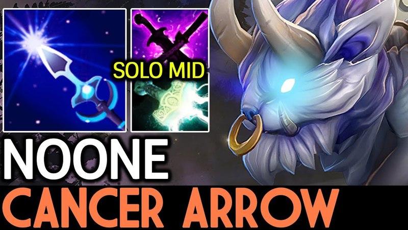 Noone [Mirana] Cancer Arrow Shot! 7.16 Dota 2