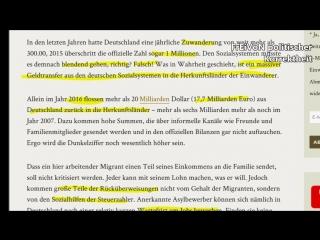 Hartz-IV Tourismus Rücküberweisungen von Migranten steigen auf 18 Milliarden! Vera Lengsfeld   HD