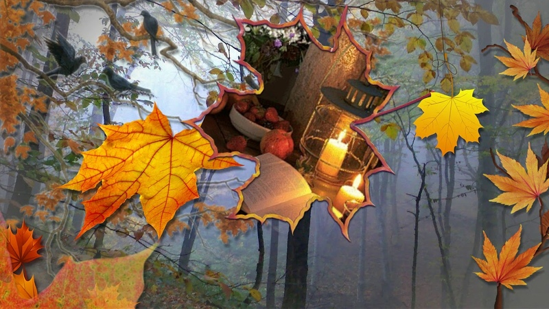 Осеннее поздравление в стихах С Днем Рождения !