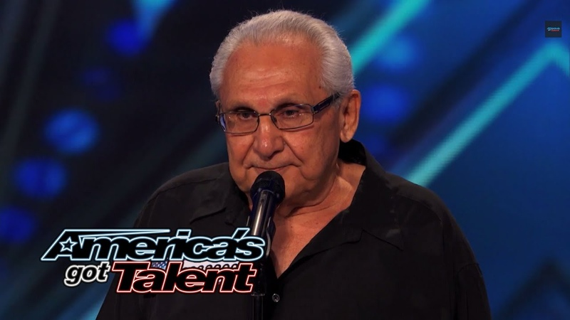 Frank The Singer: 74-Year-Old Channels Frank Sinatra - America's Got Talent 2014