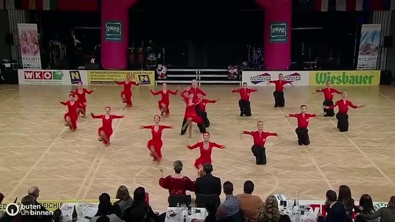 «Дуэт» г. Пермь - Чемпион мира по латиноамериканским танцам формейшн 2017 года