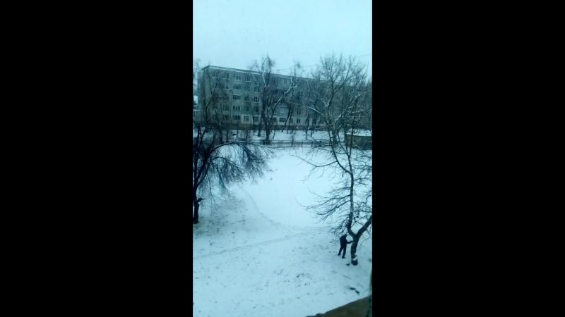 Iarna a sosit si la noi