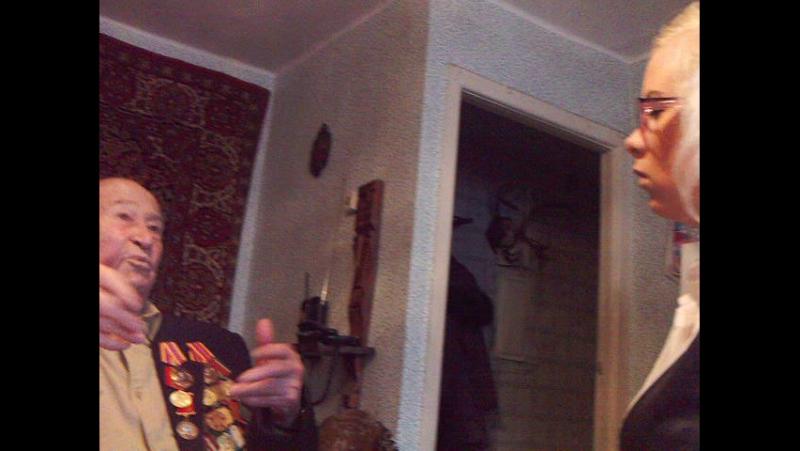 19.11.2011 Интервью с ветераном ВОВ Туровым В.Г. (2)