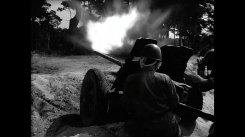 Четыре танкиста и собака (1966). 3 серия. Атака немцев при поддержке тигров на советский плацдарм на Висле