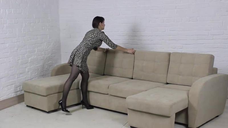 Раскладка дивана Стиль (механизм тик-так)