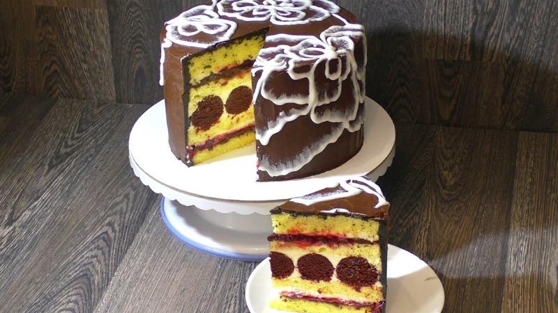 Торт *БОМБА* Очень вкусный и оригинальный.