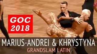 Marius-Andrei Balan & Khrystyna Moshenska | Пасодобль | GOC2018 GrandSlam LATIN - 3тур