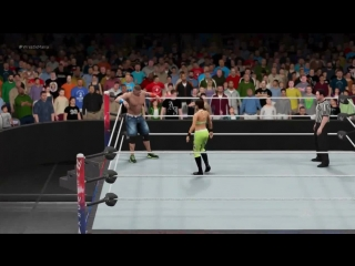 Bayley vs John Cena  WWE 2K17 PC Modding
