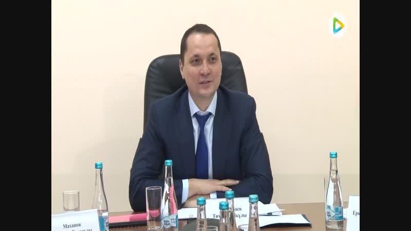 Степногорск посетил вице-министр Министерства по инвестициям и развитию Республики Казахстан Тимур Токтабаев