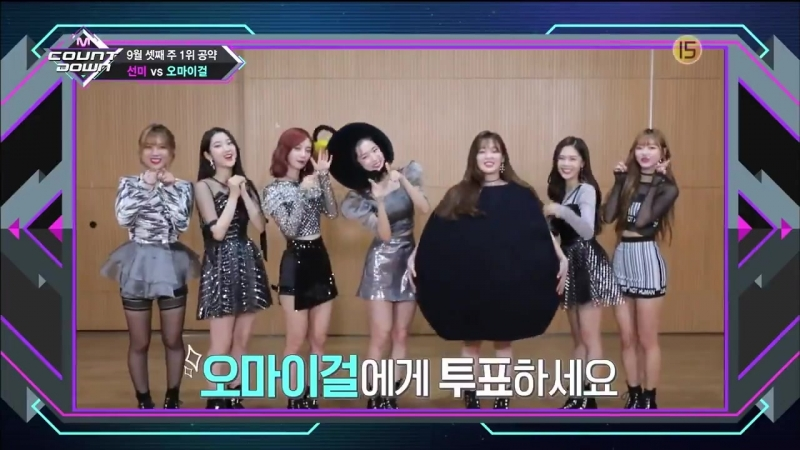 · Show Cut · 180920 · OH MY GIRL · Mnet M Countdown ·