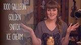 1000 Galleon Golden Snitch Ice Cream