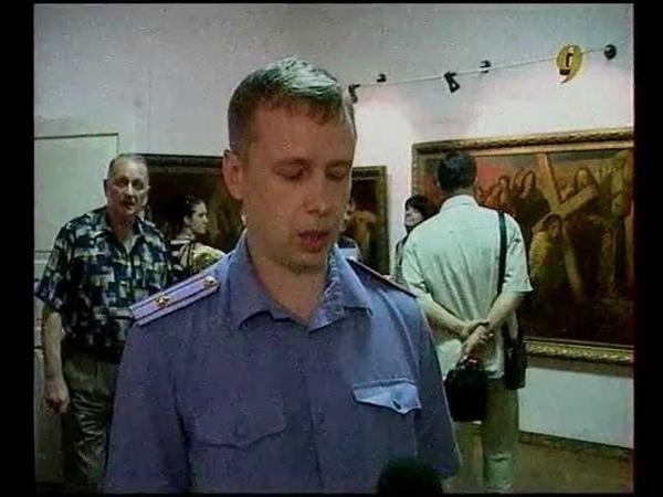 Репортаж с открытия выставки Сим победиши! 14.06.2012