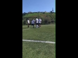 March 24: Fan taken video of Justin playing soccer in Playa Vista, California