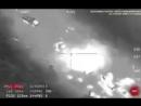 Авиация США атакует колону российской техники