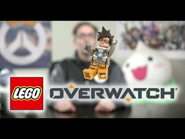 LEGO Overwatch Tracer Minifigure Revealed!