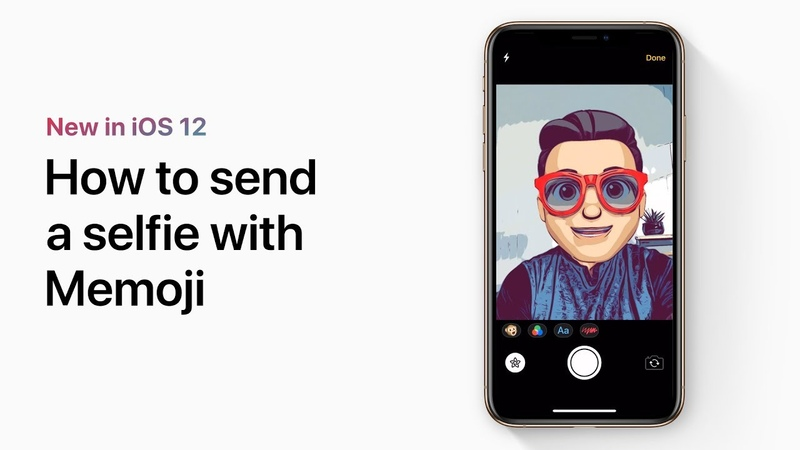 How to send a selfie with Memoji — Apple Support