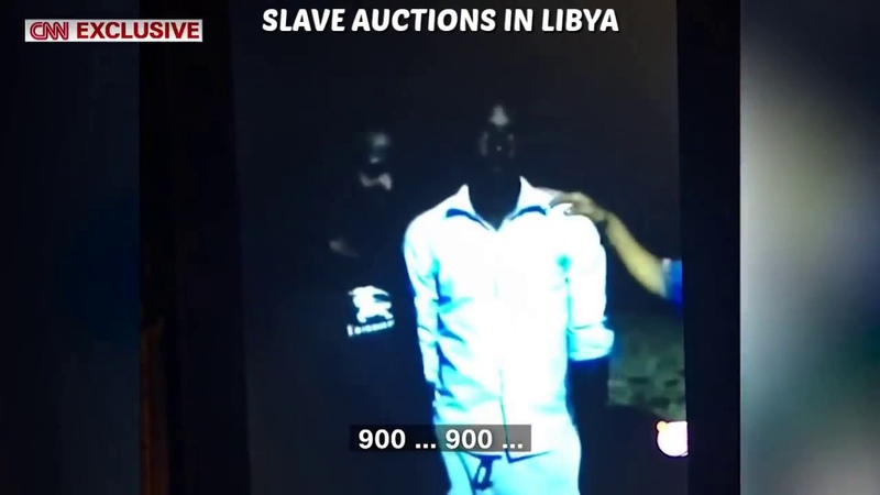 PEOPLE FOR SALE for $400 - Slave Auctions In LIBYA – Live Footage