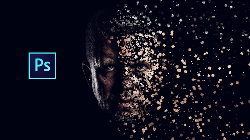 Photoshop cc Tutorial: Dispersion Effect (Photoshop Brush Making)